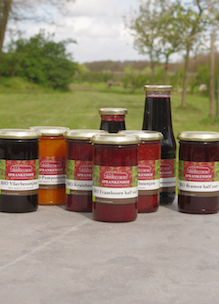 Groepje producten van Sprankenhof die te koop zijn bij diverse verkooppunten