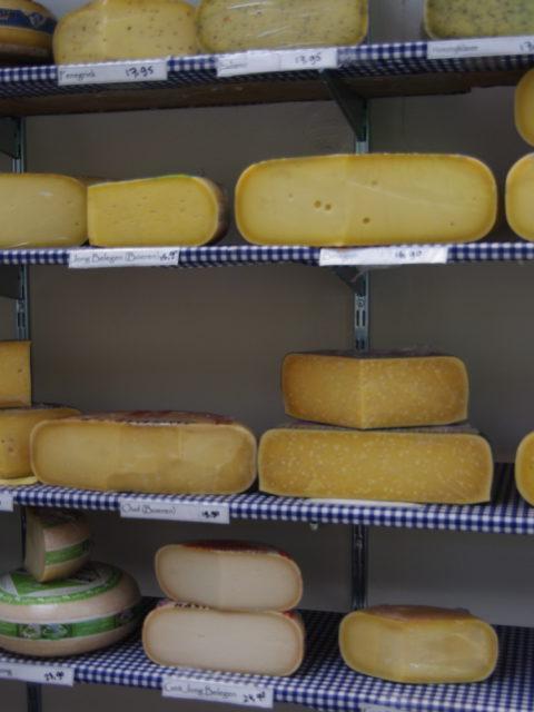 Biologische kaas in Udenhout op de plank