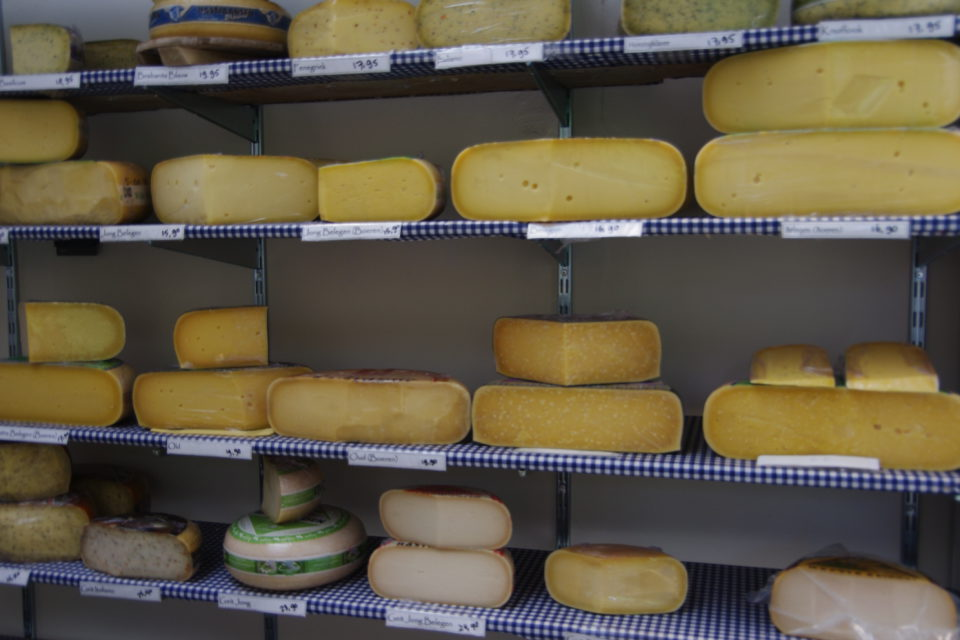 kaas op de plank
