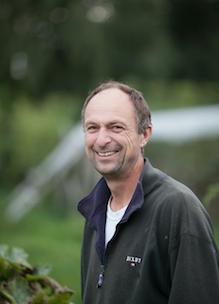 Boshoeve Sprankenhof Mark Vonk in biologische tuin