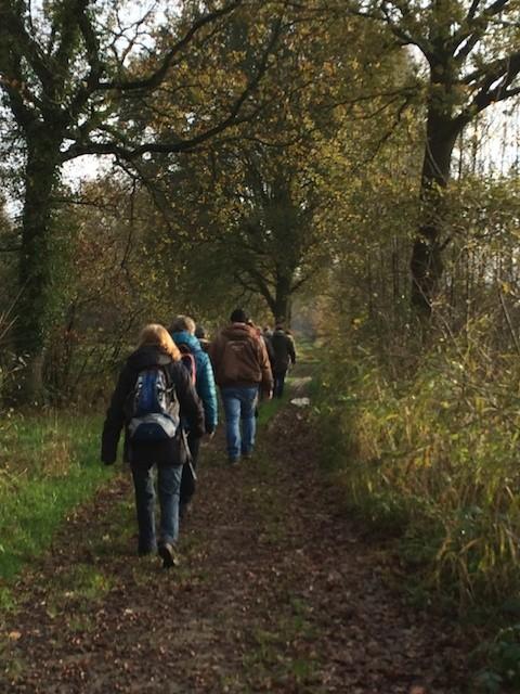 Wandeling voorafgaand aan arrangement met workshop Wild