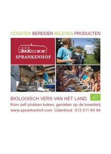Voorkant folder brochure 2015 informatieboekje Sprankenhof