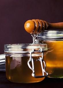 weckpotje honing als beeld voor workshop natuurlijk zoet op de agenda
